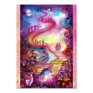 GARDEN OF THE LOST SHADOWS / MYSTIC STAIRS CARD