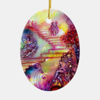 GARDEN OF THE LOST SHADOWS- MYSTIC STAIRS CERAMIC ORNAMENT