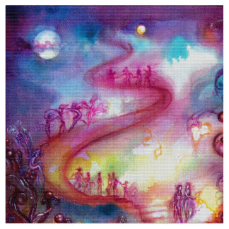 GARDEN OF THE LOST SHADOWS / MYSTIC STAIRS FABRIC