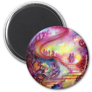 GARDEN OF THE LOST SHADOWS / MYSTIC STAIRS MAGNET
