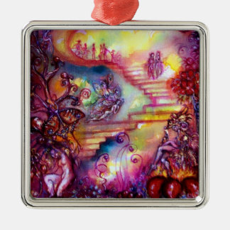 GARDEN OF THE LOST SHADOWS- MYSTIC STAIRS METAL ORNAMENT