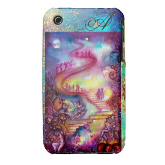 GARDEN OF THE LOST SHADOWS, MYSTIC STAIRS MONOGRAM iPhone 3 COVER