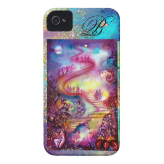 GARDEN OF THE LOST SHADOWS, MYSTIC STAIRS MONOGRAM iPhone 4 CASE