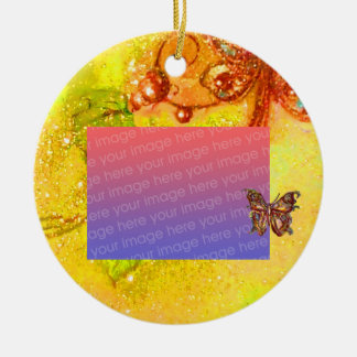 GARDEN OF THE LOST SHADOWS Photo Template Christmas Tree Ornament