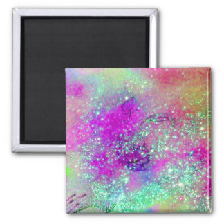 GARDEN OF THE LOST SHADOWS -pink purple violet Magnet