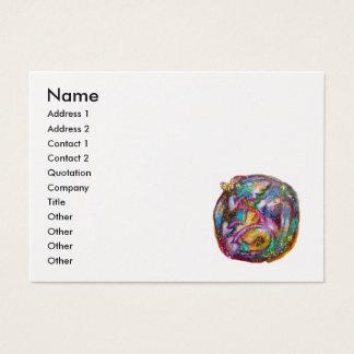 GARDEN OF THE LOST SHADOWS -platinum metallic Business Card