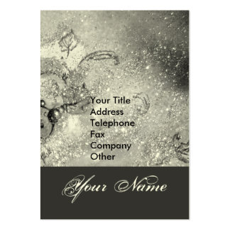 GARDEN OF THE LOST SHADOWS STAR DUST MONOGRAM 1 LARGE BUSINESS CARD