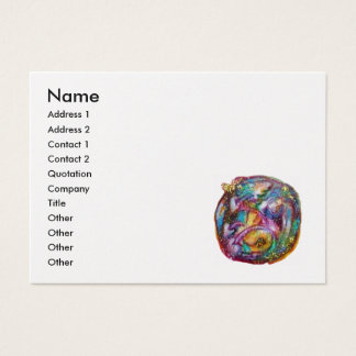 GARDEN OF THE LOST SHADOWS -white pearl paper Business Card