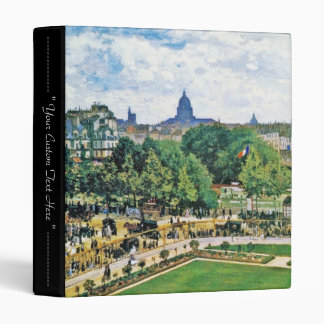 Garden of the Princess Claude Monet  fine art Binder