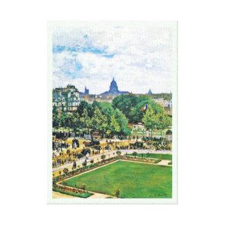 Garden of the Princess Claude Monet  fine art Canvas Print