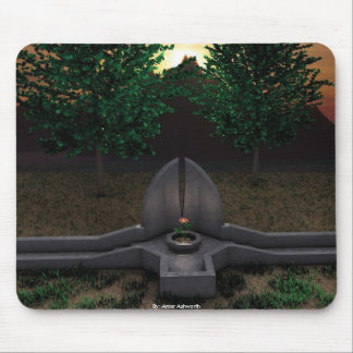 Garden of the Rose Mouse Pad