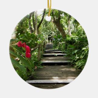 Garden of the Sleeping Giant, Fiji Ceramic Ornament