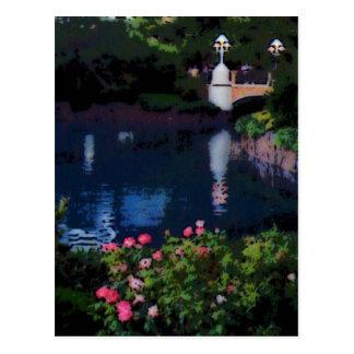 Garden Of Water Postcard