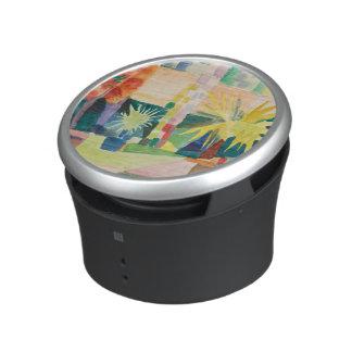 """""""Garden On Lake Thun"""" Art bluetooth speaker"""