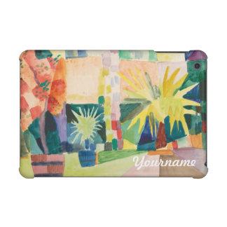 """Garden On Lake Thun"" Art custom monogram cases iPad Mini Covers"