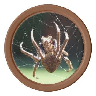 Garden Orb Weaver Spider Poker Chip