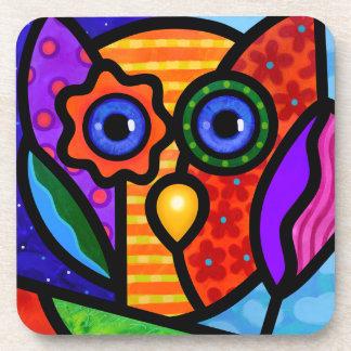 Garden Owl Beverage Coaster