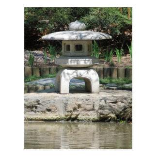 Garden Pagoda Postcard