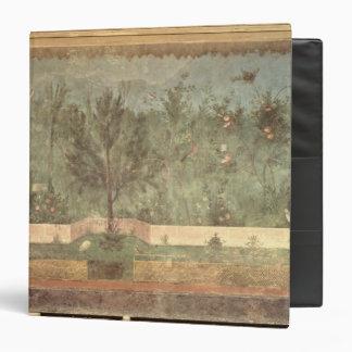 Garden Paintings from the  'Villa of Livia' Binder