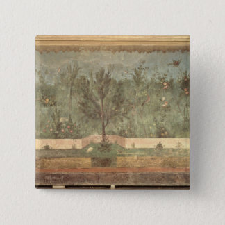 Garden Paintings from the  'Villa of Livia' Pinback Button