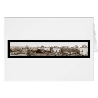 Garden Panama Pacific Photo 1914 Card