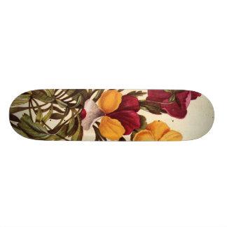 Garden Pansy Skateboard