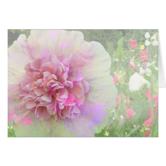 Garden Party Blank Greeting Card