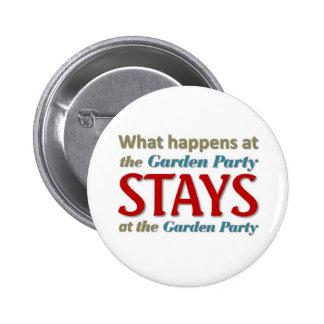 Garden Party 2 Inch Round Button