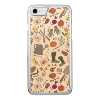 Garden Party Carved iPhone 7 Case