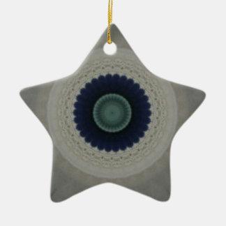 Garden Party Kaladeioscope Mandala Ceramic Ornament