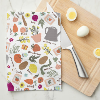 Garden Party Kitchen Towel
