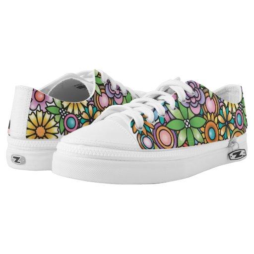 Zazzle Garden Party Low-top Sneakers