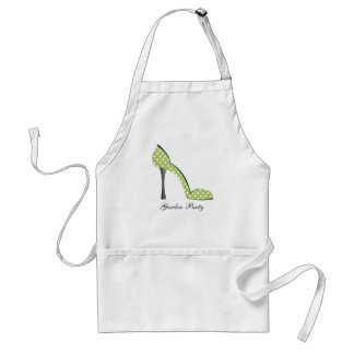 Garden Party Shoe Adult Apron