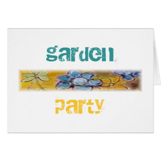 Garden Party Stationery Note Card