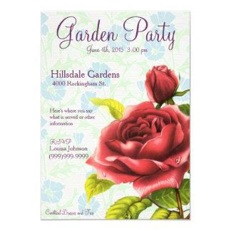 Garden Party - Victorian Rose Card