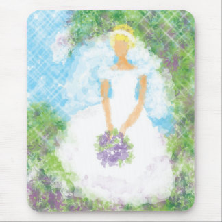 Garden Path  Bride Mouse Pad