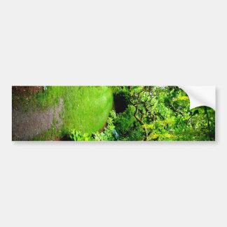 Garden Path Bumper Sticker
