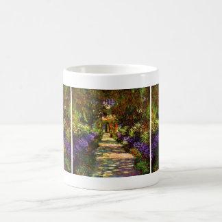 Garden Path by Claude Monet Coffee Mug