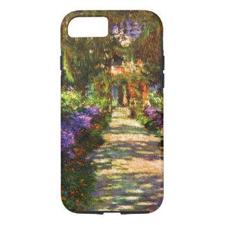 Garden Path by Claude Monet iPhone 8/7 Case