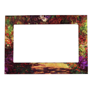 Garden Path by Claude Monet Magnetic Frame