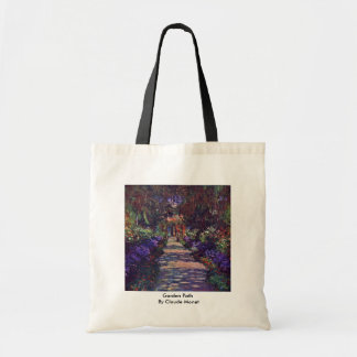Garden Path By Claude Monet Tote Bag