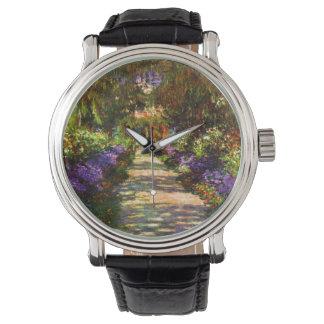 Garden Path by Claude Monet Watch