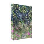 Garden Path Digital Dreamscape Art Stretched Canvas Prints