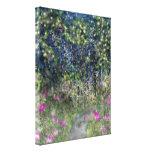 Garden Path Digital Dreamscape Art Gallery Wrap Canvas