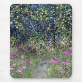 Garden Path Digital Dreamscape Mouse Pads