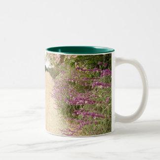 Garden Path Floral Flowers Mug