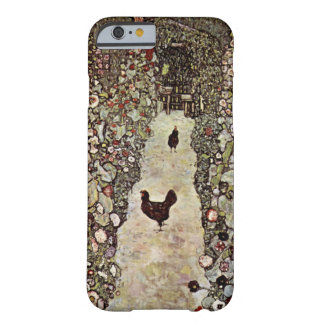 Garden Path with Chickens ~ Gustav Klimt Barely There iPhone 6 Case
