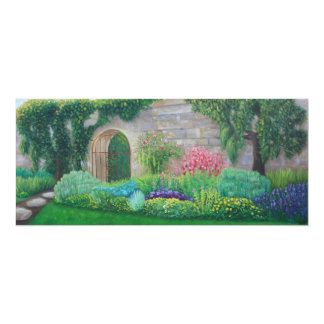"""Garden Pathway Card 4"""" x 9.25"""""""