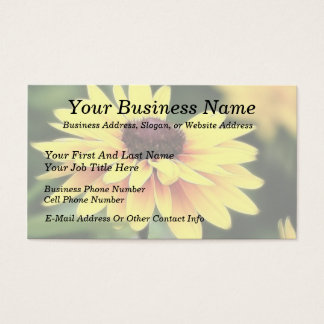 Garden Perfection - Black Eyed Susan Business Card
