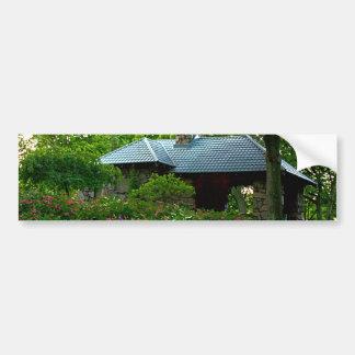 Garden Picnic Bumper Sticker